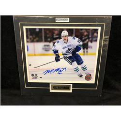 "MIKE SANTORELLI AUTOGRAPHED 12"" X 12"" FRAMED COLOR PHOTO W/ COA"