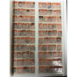CANADA THREE CENT STAMPS LOT