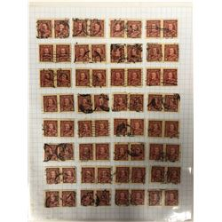 CANADIAN THREE CENT STAMPS LOT
