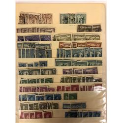 CANADIAN STAMPS LOT (VARIOUS YEARS, USED & UNUSED)