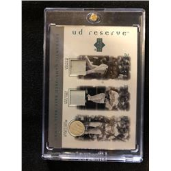 UPPER DECK RESERVE AUTHENTIC GAME-USED BASE/ BALL COMBO TRADING CARD