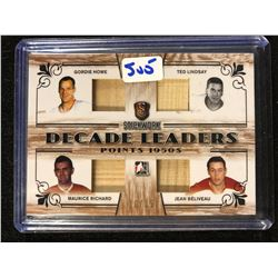 2017 Leaf Stickwork Decade Leaders 50'S Howe/Lindsay/Richard/Beliveau