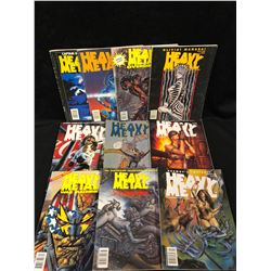 VINTAGE HEAVY METAL MAGAZINE LOT
