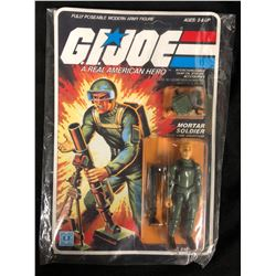 "G.I JOE ACTION FIGURE & ACCESSORIES ""MORTAR SOLDIER"" NIB"