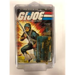 "G.I JOE ACTION FIGURE & ACCESSORIES MACHINE GUNNER"" NIB"