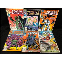 TRANSFORMERS #23-28 (MARVEL COMICS)