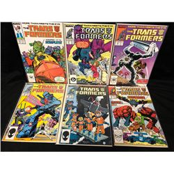 TRANSFORMERS #29-37 (MARVEL COMICS)