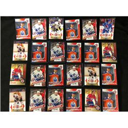 UPPER DECK MEMORABLE MOMENTS & HOCKEY HEROES HOCKEY CARD LOT