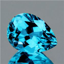 Natural AAA Intense Sky Blue Topaz 14x10 MM