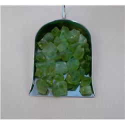 Natural Top Green Peridot Rough 100 Carats - Untreated
