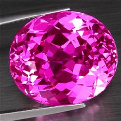 Natural hot Pink Topaz 25.50 carats - VVS