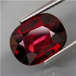 Natural African Red Rhodolite Garnet 5.68 Cts