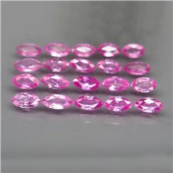 Natural Marquise Pink Sapphire 3.93 Cts