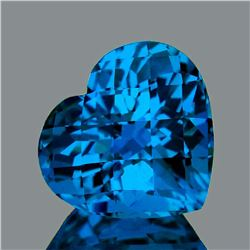 Natural Swiss Topaz 37.39 Carats - FL - Certified