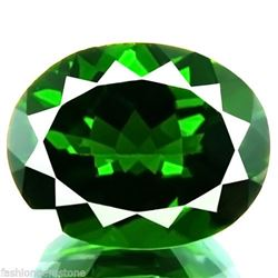 Natural Green Chrome Diopside 4.24 Carats - VVS