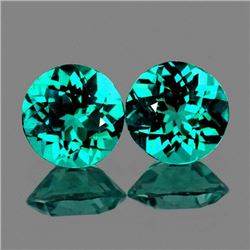 Natural Paraiba Green Blue Apatite 8.00 MM - VVS