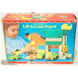 FISHER PRICE LIFT AND LOAD DEPOT SET