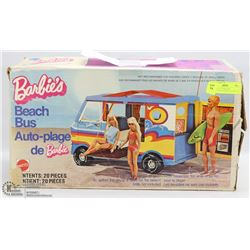 VINTAGE 1970'S BARBIE MOTORHOME AND SWIMMING POOL