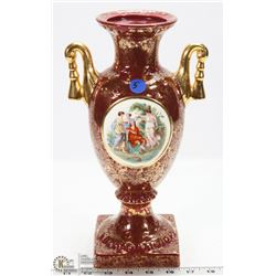 5) ANTIQUE PORCELAIN VASE