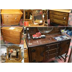 FEATURED VINTAGE AND ANTIQUE DRESSERS