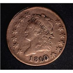 1810 LARGE CENT, VF