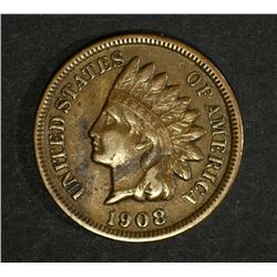 1908-S INDIAN HEAD CENT  VF-XF