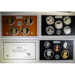 2012 Silver Proof Set.