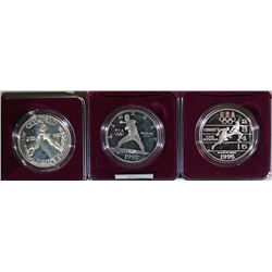 (3) Olympic Commemorative Sets