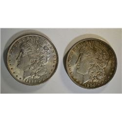 1900 & 1888 MORGAN DOLLARS CHBU