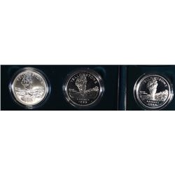(2) Yellowstone Silver Commemoratives