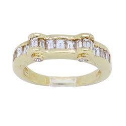 14KT Yellow gold 1.12ctw Diamond Ring