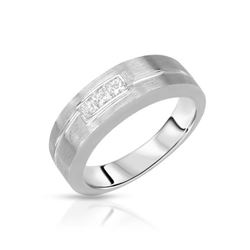 14KT White Gold 0.39ctw Diamond Ring