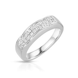 14KT White Gold 0.50ctw Diamond Ring