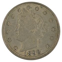 1898 Liberty Nickel Coin