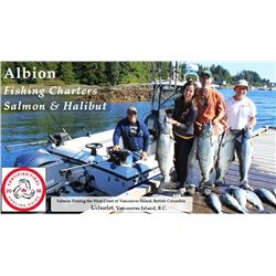 Albion Fishing Charter Trip for 2 with 2-8 Hour Guided Fishing Trip and 2 nights Accomodation.