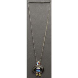 NAVAJO PENDANT AND NECKLACE