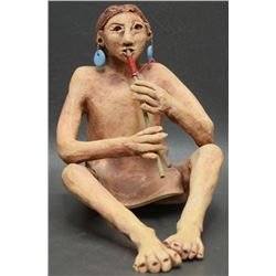 POTTERY FIGURE (LUJAN)
