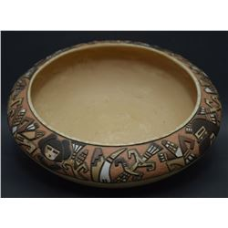 HOPI POTTERY BOWL (POLACCA)