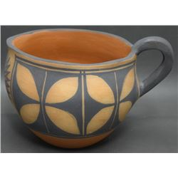 SANTO DOMINGO POTTERY PITCHER