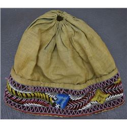 IROQUOIS BEADED HAT