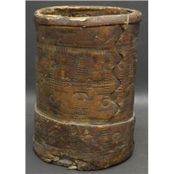 EASTERN BURCH BARK CONTAINER