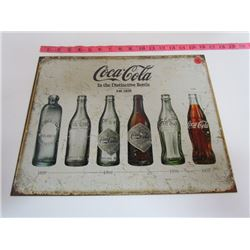 Coca Cola Bottle Sign Repro