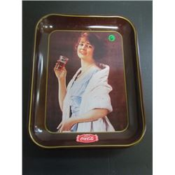 "1923 Repro ""Flapper Girl"" Coca Cola Tray"