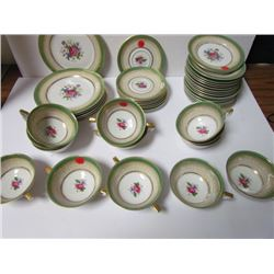 Avon 1794 Royal Bayneutly Germany US Zone dishes
