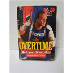 "Hockey Hard Cover Book-""Overtime"" The Legend of Guy Lafleur"