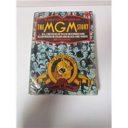 "Large Hard Copy Book-""The Complete History of The MGM Story"""