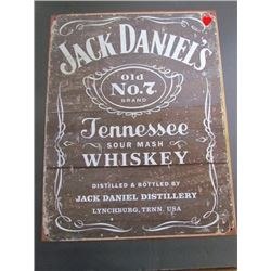 Jack Daniels Tenesee Whiskey Repro Ad Sign