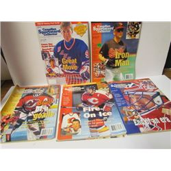 5 Canadian Sportscard Collector Magazines