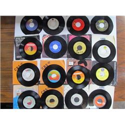 45 Rpm Records Lot-16-Elton John.Air Supply,Billy Joel,The Cars,Madonna,Belinda Carlyle etc