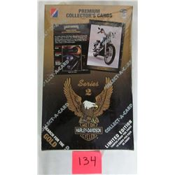 Factory sealed series 2 Harley Davidson motorcycle cards - 36 packs